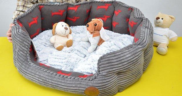 Petface Deli Hundebett aus Bambus im Test - dieses luxuriöse Bett gibt Ihrem Haustier ein Gefühl der Sicherheit