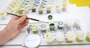 Schipper Malen nach Zahlen, Am Wildbach im Test - so bleiben die selbstgemalten Bilder nicht nur den Künstlern vorbehalten
