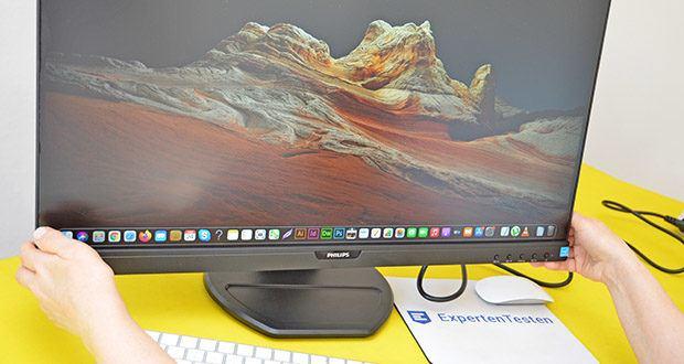 Philips 273B9 27 Zoll Monitor im Test - Helligkeit/Kontrast: 250 cd/m²/1.000:1