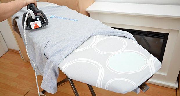 smart&gentle Turbo Bügelbrettbezug im Test - 2mm Schaumstoff zum perfekten Gleiten; Molton als Feuchtigskeitsspeicher; Aluminiumschicht zur Hitze- & Dampfreflexion; 3mm Extra Schaumstoff zur Polsterung