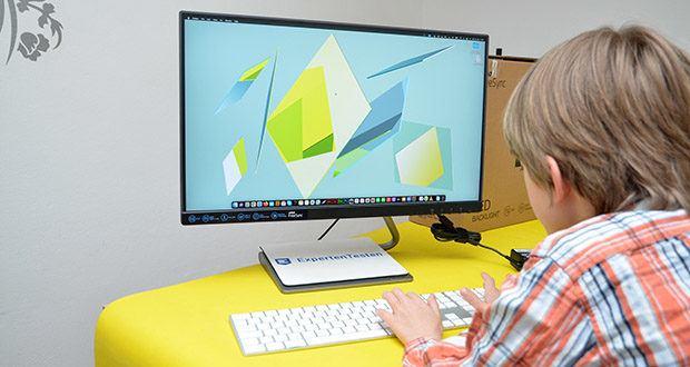 Lenovo Q24h-10 24 Zoll Monitor im Test - ein schickes Designerstück für Ihr Home Office oder die digitale Unterhaltung Zuhause