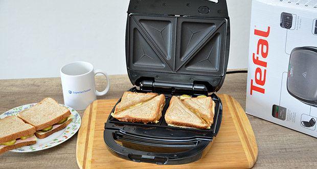 Tefal Snack Time SW341B Waffeleisen & Sandwichtoaster im Test - Multifunktionsgerät für Waffeln (rechteckig, belgisch) und Sandwiches (dreieckig, klassisch)