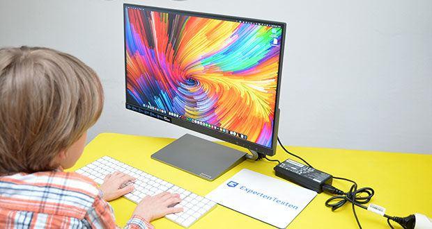Lenovo Q24h-10 24 Zoll Monitor im Test - überzeugt mit einer gekonnten Mischung aus edlem Produktdesign und einer ganzen Reihe von Premium-Funktionen