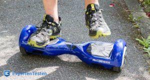 Wie lange fährt ein Hoverboard aus dem Test?