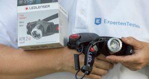 Verschiedene Hersteller von Stirnlampen im Test und Vergleich