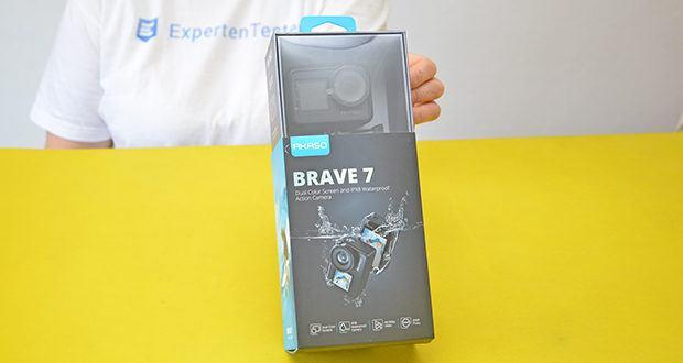 AKASO Brave 7 Action Cam im Test - unterstützt 2,4 GHz W-LAN