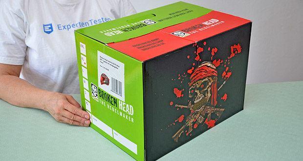 Broken Head Jack S. V2 Pro Motorradhelm im Test - Gewicht: 1200 g - 1500 g