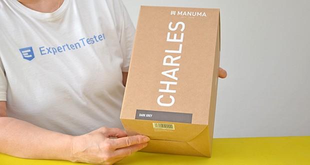 MANUMA Charles Design Weinkühler im Test - Artikelgewicht: 1,4 kg; Farbe: Anthrazit Grau