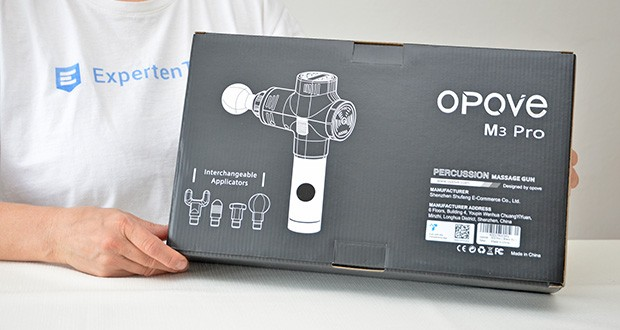 Opove M3 Pro Massagepistole im Test - ergonomisch konzipiert