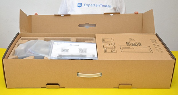 Proscenic P11 Akku Staubsauger im Test - LED Touchscreen