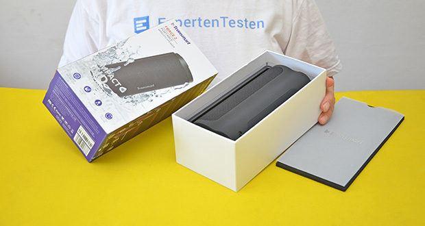 Tronsmart Force 2 Bluetooth Lautsprecher im Test - bietet eine Wiedergabeleistung von 30W