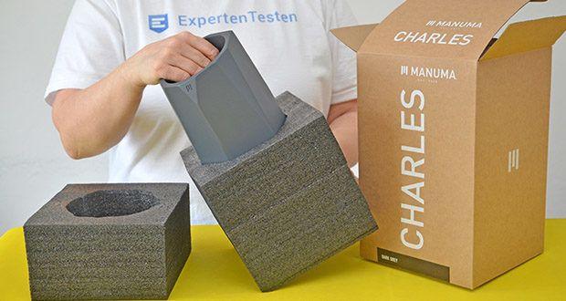 MANUMA Charles Design Weinkühler im Test - einfache Nutzung