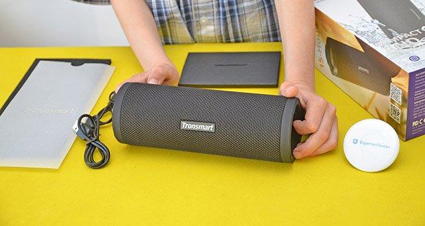 Tronsmart Force 2 Bluetooth Lautsprecher im Test - ausgestattet mit Qualcomm QCC3021 Chip