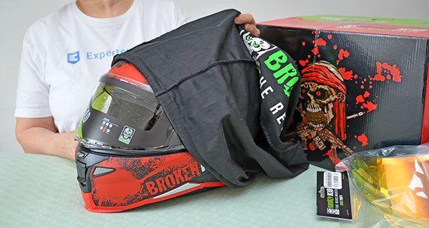 Broken Head Jack S. V2 Pro Motorradhelm im Test - Außenmaterial: Polykarbonat