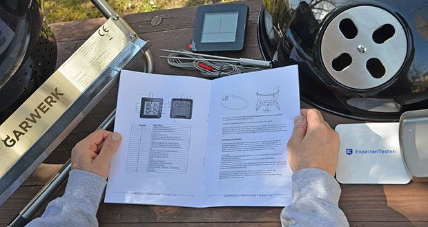 GARWERK Smokey Sam Junior im Test - mit der intelligenten Smoker-Funktion stellst du Temperatur und Zeit ein, überwachst sie und kannst auch ganz easy den Ventilator fernsteuern