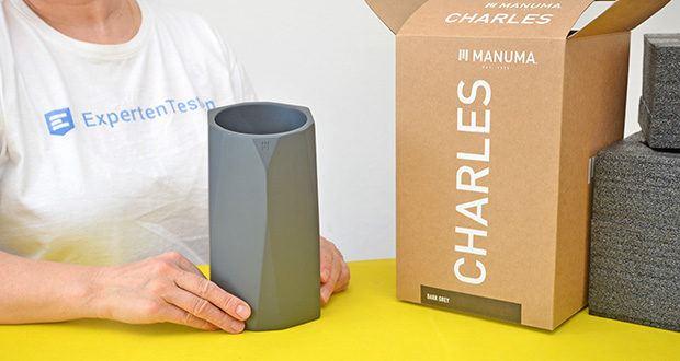 MANUMA Charles Design Weinkühler im Test - passgenau für alle gängigen 750ml Flaschen