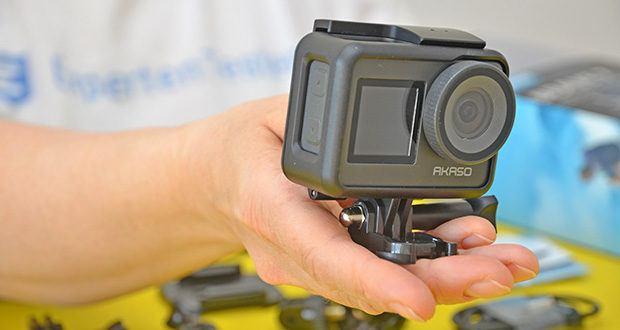 AKASO Brave 7 Action Cam im Test - mit einem kompakten wasserdichten Gehäuse können Sie die Unterwasserwelt bis zu 40 m entdecken