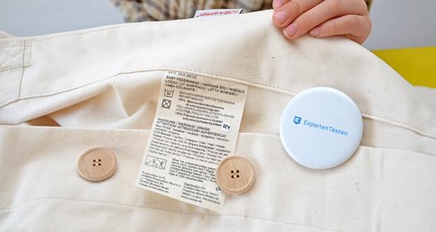 HOBEA-Germany Federwiege für Babys im Test - komplett waschbar in der Waschmaschine bei 30 Grad