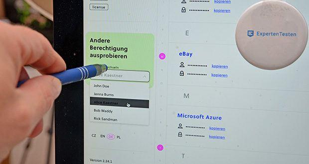Passwd Passwort Manager im Test - geben Sie Zugriff auf Datensätze pro Benutzer oder pro Gruppe