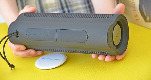 Tronsmart Force 2 Bluetooth Lautsprecher im Test - unterstützt AAC und SBC Decodierung