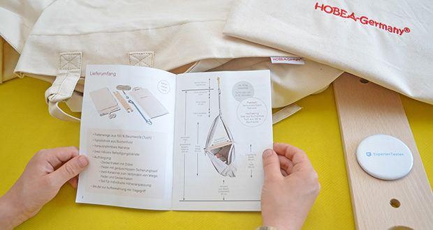 HOBEA-Germany Federwiege für Babys im Test - dank der Haltung mit gerundetem Rücken wird das Gewicht des Kopfes besser auf den Rest des Babykörpers verteilt. Dies beugt einer Abflachung des Hinterkopfes vor