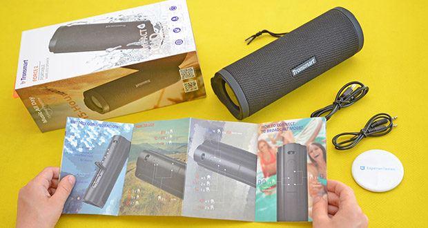 Tronsmart Force 2 Bluetooth Lautsprecher im Test - One-Tap-Sprachassistent (Siri, Google Assistantmazon, Echo Dot)