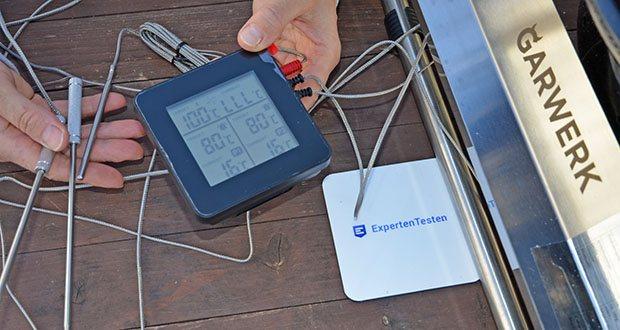 GARWERK Smokey Sam Junior im Test - Temperaturkontrolle und Einstell-Möglichkeiten über Controller