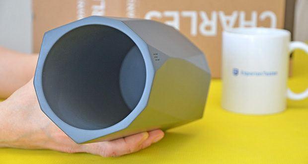 MANUMA Charles Design Weinkühler im Test - ganz ohne Kondenswasser oder Wasserflecken auf deinem Tisch!
