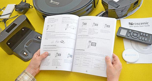 Proscenic 850T Saugroboter mit Wischfunktion im Test - durch ProscenicHome App können Sie Reinigungspläne machen, Reinigungsmodi wechseln, von überall aus die Reinigung starten oder stoppen usw.