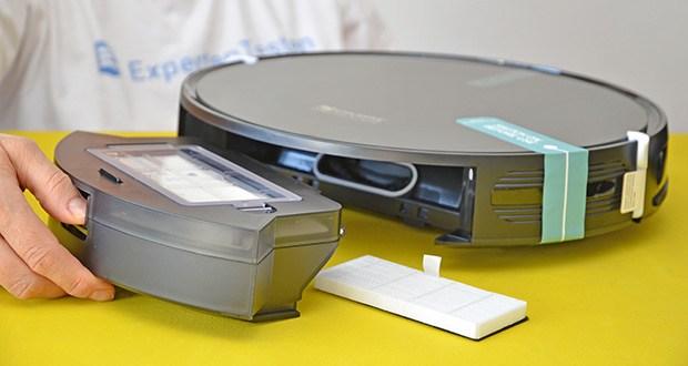 Proscenic 850T Saugroboter mit Wischfunktion im Test - Staubbehälter Kapazität: 500ml
