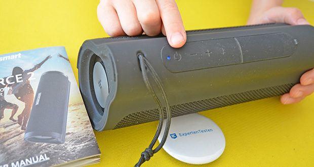 Tronsmart Force 2 Bluetooth Lautsprecher im Test - Bluetooth 5.0 macht die Verbindung schneller und stabiler