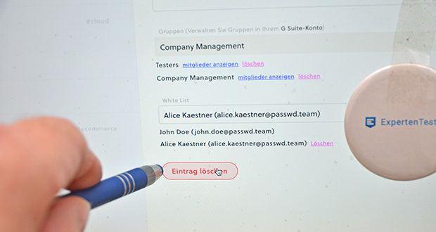 Passwd Passwort Manager im Test - erfüllt sowohl die GDPR als auch die SOC 2-Anforderungen, da es auf der Google Cloud Platform des Anwenders läuft
