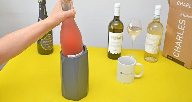 MANUMA Charles Design Weinkühler im Test - mach deinen Weinkühler zum Blickfang auf deinem Tisch
