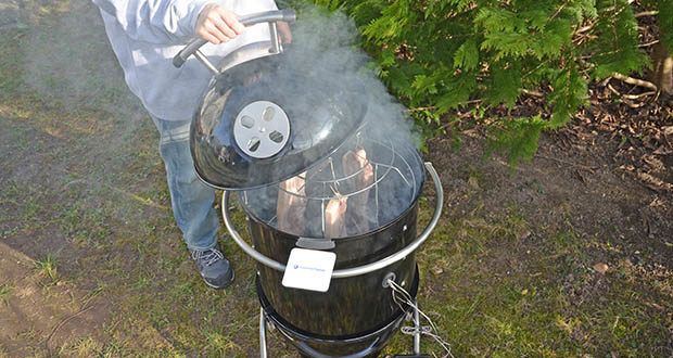 GARWERK Smokey Sam Junior im Test - serviert dir das ganz große Fleischglück: Rinderbraten, Beef Brisket, Pulled Pork, Spare Ribs und natürlich auch Köstlichkeiten aus dem Meer