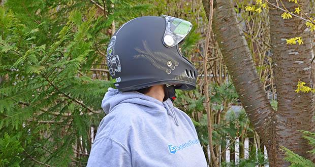 Broken Head Motorradhelm Gasman im Test - Brillenträgergeeignet