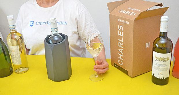 MANUMA Charles Design Weinkühler im Test - kombiniert Design und Funktion wie kein anderer Weinkühler!
