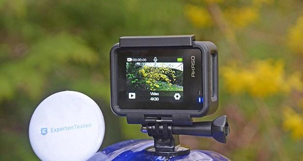 AKASO Brave 7 Action Cam im Test - verfügt über einen neugeborenen Frontbildschirm, um Ihr Aufnahmeerlebnis zu optimieren