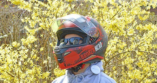 Broken Head Jack S. V2 Pro Motorradhelm im Test - Brillenträgergeeignet