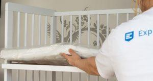 Bewirkt das Beispielbett einen gesunden Schlaf bei Neugeborenen?