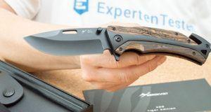 Was sind die häufigsten Fragen zu dem Taschenmesser im Test?