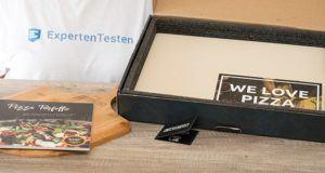 Lieferumfang, Lieferzeit und Verpackungsmaterial des Pizzasteins im Test