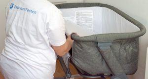 Was sind wichtige Sicherheitsrichtlinien für ein Babybett im Test?