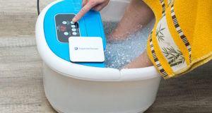Das Fußbad wird von Expertentesten verglichen und getestet