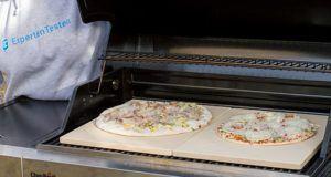 Kann man eine Tiefkühlpizza auf Pizzastein zubereiten im Test?