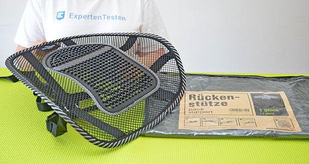 Donnerberg Lordosenstütze im Test - Produktabmessungen: 43 x 10 x 43 cm; Gewicht: 440 Gramm