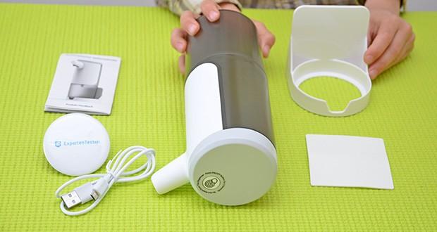 Farsaw Automatischer Seifenspender im Test - Größe: 6,8 x 20 cm; Material: ABS-Kunststoff