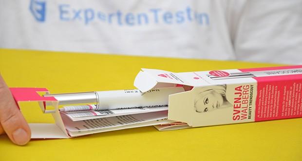 Svenja Walberg LASHCOCA!NE Wimpernserum im Test - ein reichhaltiger Pflegekomplex bestehend aus Biotin, Panthenol (Provitamin B5) und Arginine pflegt die feine und empfindliche Haut des Augenlids