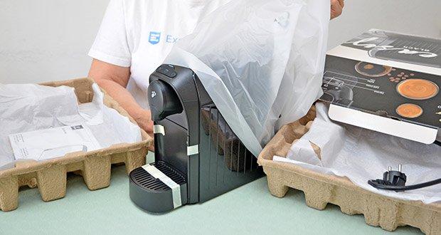 Tchibo Kapselmaschine Cafissimo Easy im Test - Leistung: 1250 Watt (ausgeschaltet
