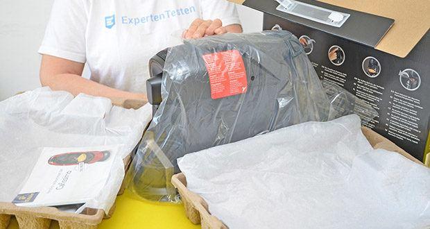 Tchibo Kapselmaschine Cafissimo Pure im Test - 36 Monate Garantie