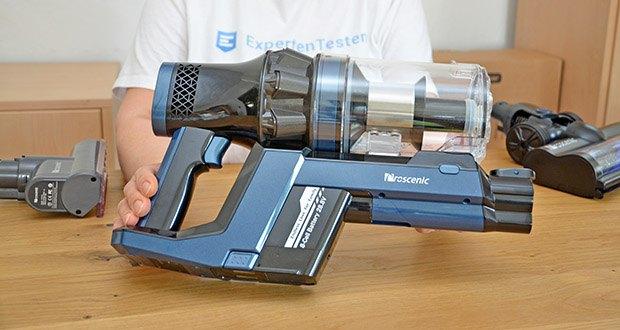 Proscenic Akku Handstaubsauger P10 Pro im Test - eine starke Saugleistung von bis zu 25,000 Pa